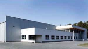 Construction bâtiment industriel en acier
