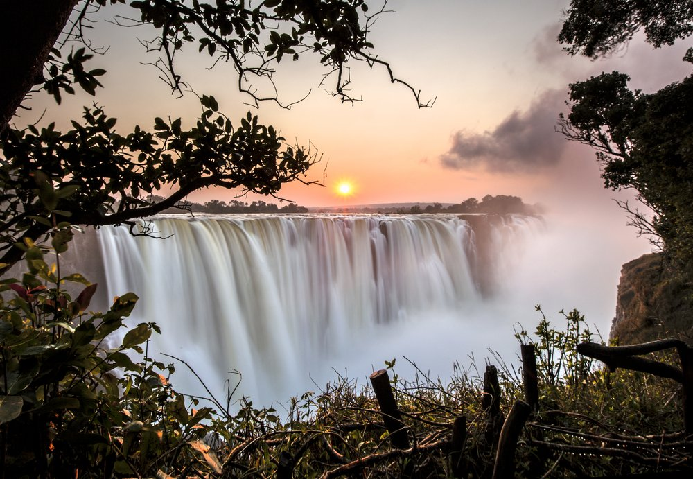 Chutes Victoria Afrique du Sud